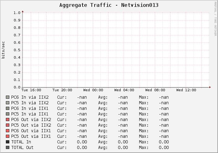 Netvision 013 Traffic Graph